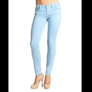 7 For All Man kind Gwenevere Colored Skinny Jeans